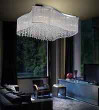Crystal World 5320C26C-S - 12 Light Chrome Drum Shade Flush Mount from our Elsa collection