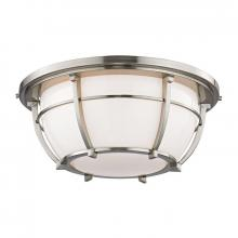 Hudson Valley 4115-SN - 3 Light Flush Mount