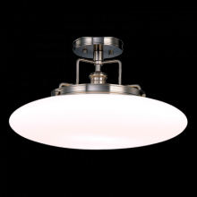Hudson Valley 4208-OB - 1 Light Semi Flush