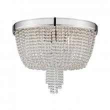 Hudson Valley 9008-PN - 4 Light Flush Mount