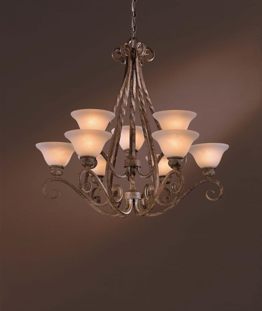 9 light chandelier 1146 32 main line lighting design 9 light chandelier mozeypictures Images