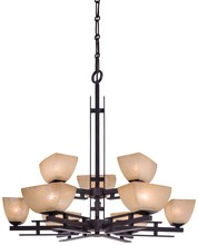 Minka-Lavery 1277-357 - 9 Light Chandelier