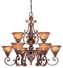 Minka-Lavery 1358-177 - 9 Light Chandelier