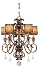Minka-Lavery 4755-206 - 5 Light Chandelier
