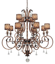 Minka-Lavery 4758-206 - 12 Light Chandelier