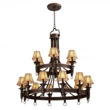 Kalco 4208AC/S256 - Americana 18 Light  Chandelier