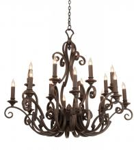 Kalco 4263AC/8045 - Ibiza 16 Light  Chandelier