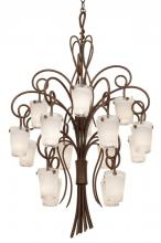 Kalco 4299AC/FROST - Tribecca 16 Light Foyer