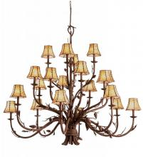 Kalco 5030PD/8045 - Ponderosa 20 Light  Chandelier