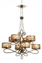 Kalco 5413SV - Windsor 40 Light Chandelier