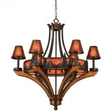 Kalco 5811NI - Aspen 6 Light  Chandelier (Treescape)