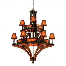 Kalco 5812NI - Aspen 9 Light  Chandelier (Treescape)