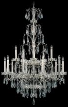 Schonbek EK6515N-401S - Ekaterina 15 Light 110V Chandelier in Stainless Steel with Clear Crystals From Swarovski