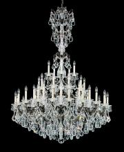 Schonbek 5016-22 - La Scala 45 Light 110V Chandelier in Heirloom Gold with Clear Heritage Crystal