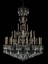 Schonbek 5688-26O - Milano 28 Light 110V Chandelier in French Gold with Clear Optic Crystal
