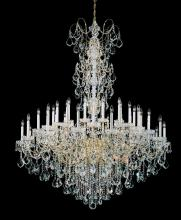 Schonbek 3663-23H - New Orleans 45 Light 110V Chandelier in Etruscan Gold with Clear Heritage Crystal