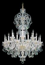 Schonbek 6815-40A - Olde World 23 Light 110V Chandelier in Silver with Clear Spectra Crystal