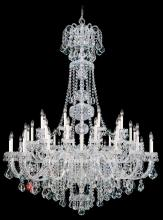 Schonbek 6861-40A - Olde World 45 Light 110V Chandelier in Silver with Clear Spectra Crystal