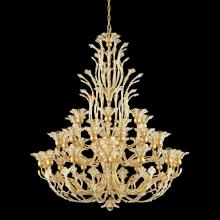 Schonbek 7868-76A - Rivendell 36 Light 110V Chandelier in Heirloom Bronze with Clear Spectra Crystal