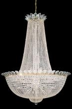 Schonbek 3724-40A - Roman Empire 58 Light 110V Chandelier in Silver with Clear Spectra Crystal
