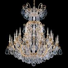 Schonbek 2775-48 - Versailles 41 Light 110V Chandelier in Antique Silver with Clear Heritage Crystal