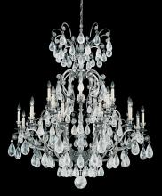 Schonbek 2474-76 - Versailles Rock Crystal 25 Light 110V Chandelier in Heirloom Bronze with Clear Rock Crystal