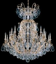 Schonbek 2774-48 - Versailles 25 Light 110V Chandelier in Antique Silver with Clear Heritage Crystal