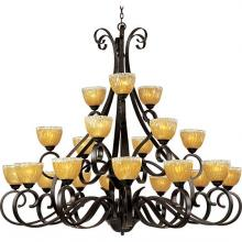 Maxim 13417AIOI - Barcelona-Multi-Tier Chandelier