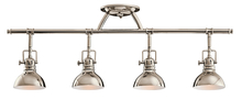 Kichler 7704PN - Rail Light 4Lt Halogen