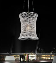 Crystal World 5300P14C - 1 Light Chrome Drum Shade Mini Pendant from our Christie collection
