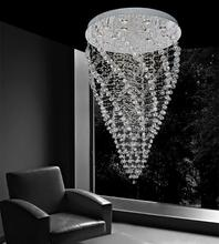 Crystal World 6602C32C - 15 Light Chrome Flush Mount from our Twister collection