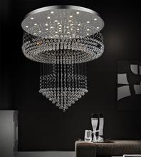 Crystal World 6617C32C - 12 Light Chrome Flush Mount from our Waterfall collection