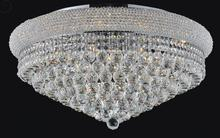 Crystal World 8001C36C - 20 Light Chrome Flush Mount from our Empire collection