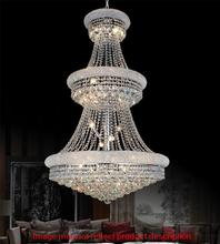 Crystal World 8001P30G - 32 Light Gold Down Chandelier from our Empire collection