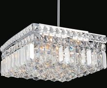 Crystal World 8005P12C-S - 4 Light  Mini Chandelier with Chrome finish
