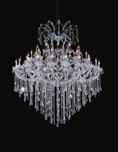 Crystal World 8311P64C-24+18+12+1(Clear)-B - 55 Light Chrome Up Chandelier from our Maria Theresa collection