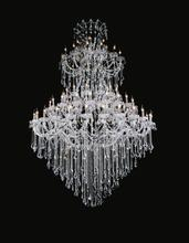 Crystal World 8318P70C-28+21+14+14+7 (Clear)-A - 84 Light Chrome Up Chandelier from our Maria Theresa collection