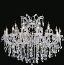 Crystal World 8319P42C-16+8+1 (clear) - 25 Light Chrome Up Chandelier from our Maria Theresa collection