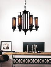Crystal World 9616P28-6-130 - 6 Light Rust Up Chandelier from our Vivian collection