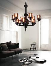 Crystal World 9618P30-12-130 - 12 Light Rust Up Chandelier from our Norma collection