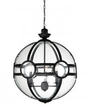 Crystal World 9696P20-3-101 - 3 Light Black Pendant from our Beas collection