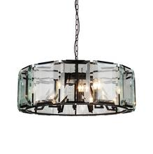 Crystal World 9860P43-18-101 - 18 Light Black Chandelier from our Jacquet collection