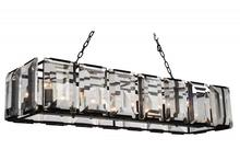 Crystal World 9860P55-14-101 - 14 Light Black Chandelier from our Jacquet collection