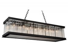 Crystal World 9861P50-14-101 - 14 Light Black Chandelier from our Mira collection