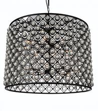 Crystal World 9862P36-16-101 - 16 Light Black Chandelier from our Renous collection