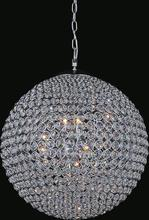 Crystal World QS8353P40C - 26 Light Chrome Chandelier from our Globe collection