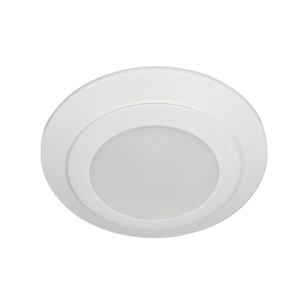 "Traverse LED: 4"" LED Recessed Retrofit or Ceiling Mount 3000K"