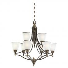 Sea Gull 31351-708 - Nine Light Chandelier