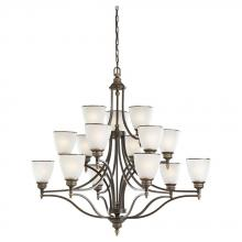 Sea Gull 31352-708 - Fifteen Light Chandelier