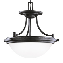 Sea Gull 77660-839 - Two Light Semi-Flush Convertible Pendant